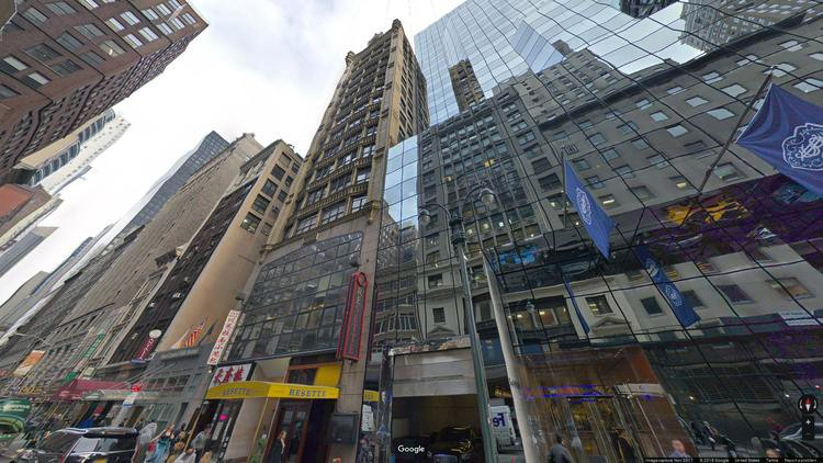 lease office 7 west 45th street