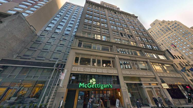 lease office 70 west 36th street