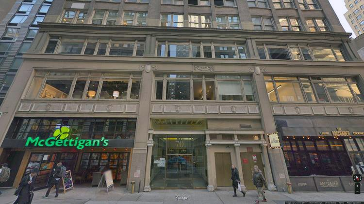 rent office 70 west 36th street