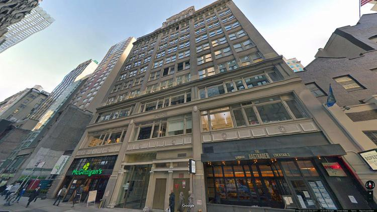 let office 70 west 36th street