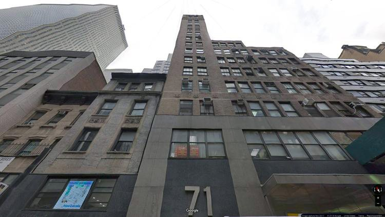 lease office 71 west 47th street