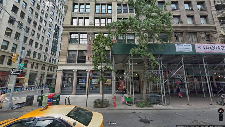 rent office 72 fifth avenue