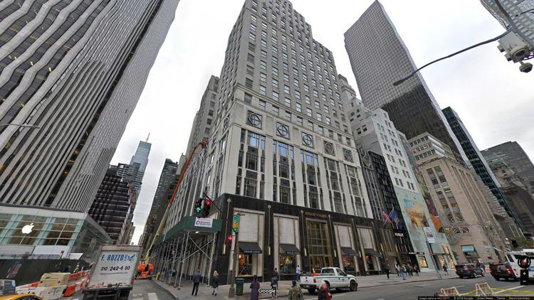 lease office 745 fifth avenue