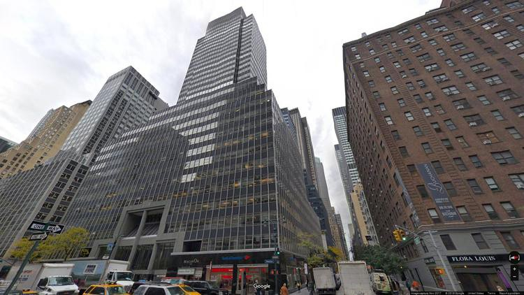 lease office 750 third avenue