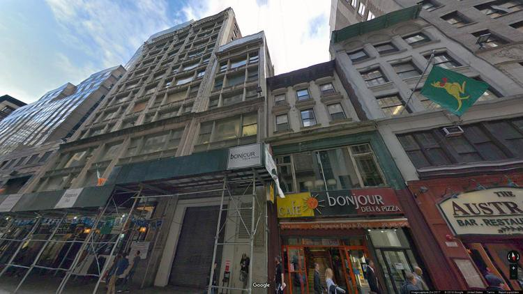 lease office 8 west 38th street