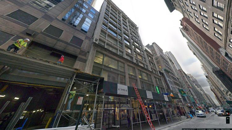 rent office 8 west 38th street