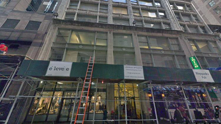 let office 8 west 38th street