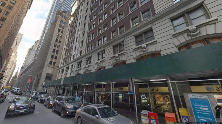 lease office 82 wall street