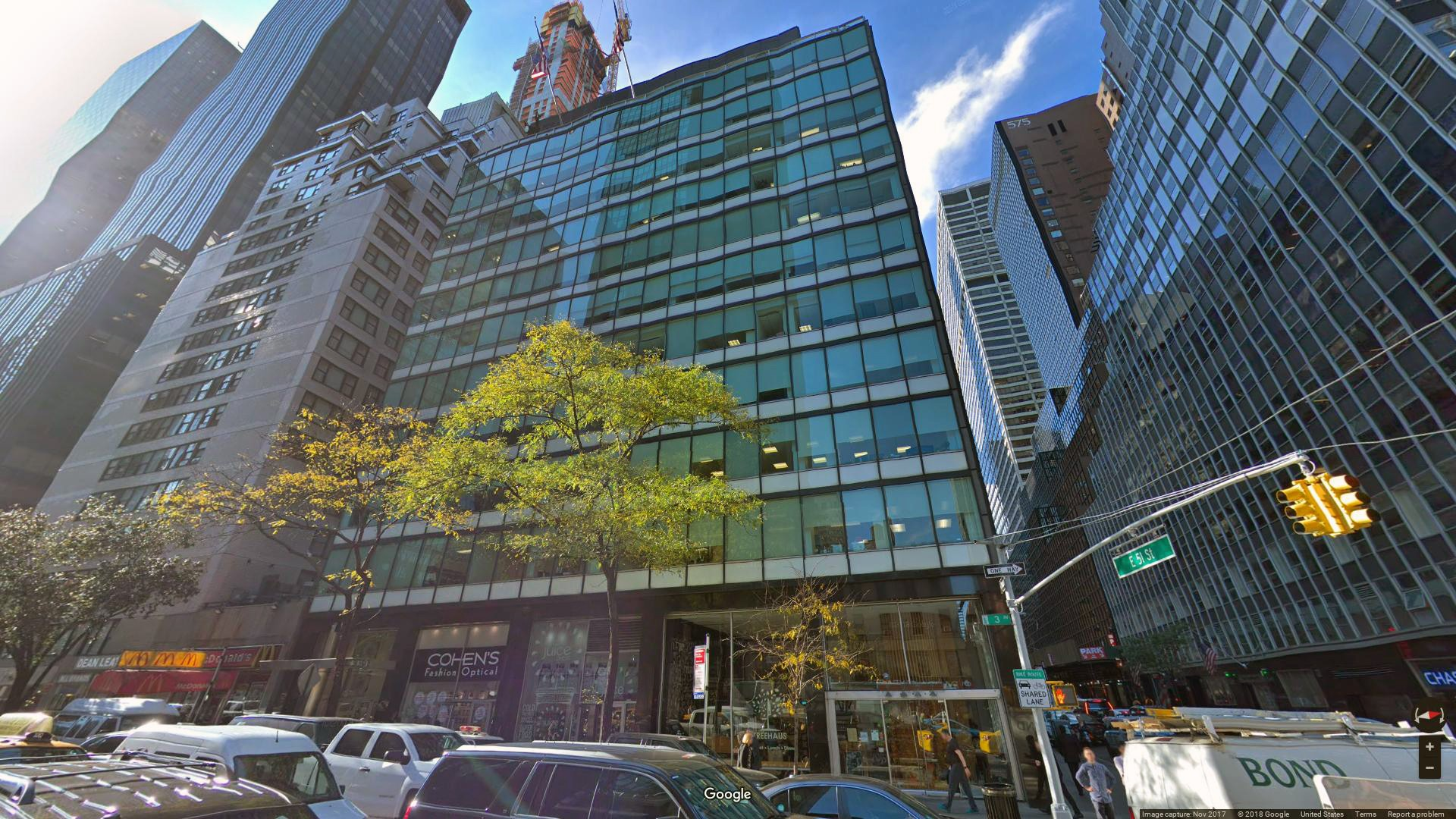 Lease Office 830 Third Avenue