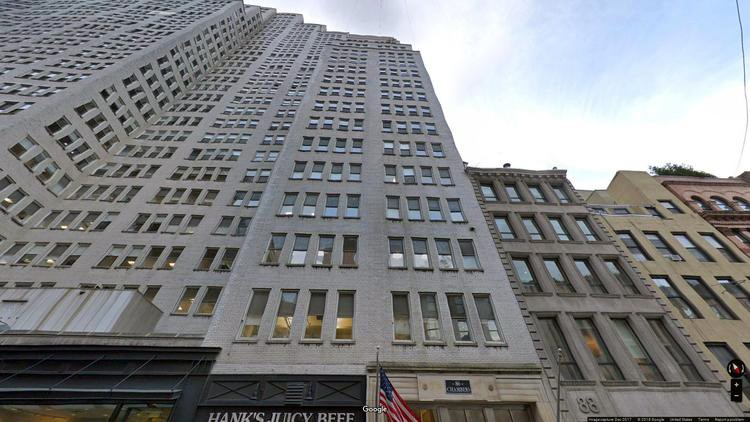 rent office 86 chambers street