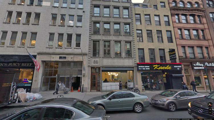 lease office 86 chambers street