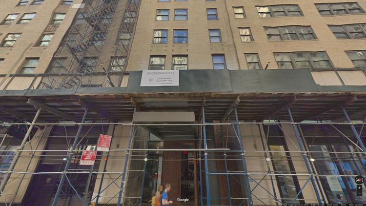 rent office 88 greenwich street