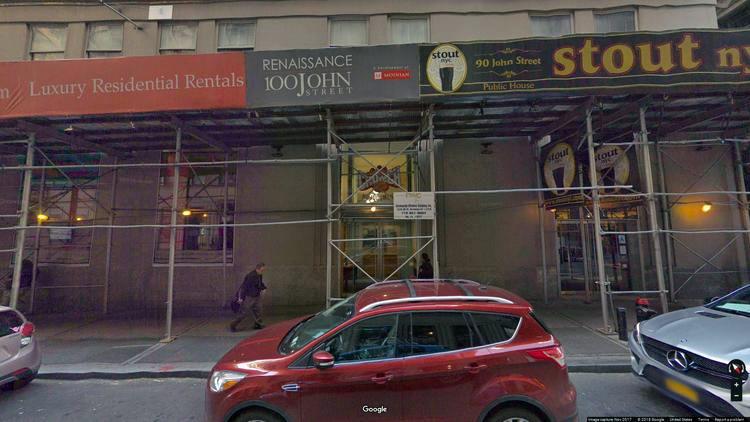 rent office 90 john street