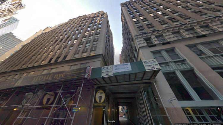 lease office 90 john street